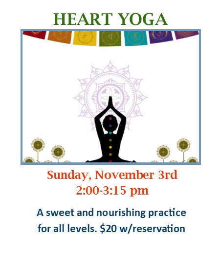 Heart Yoga Workshop