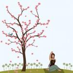 Cherry Blossom Girl