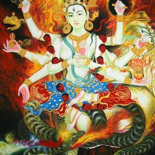 vajrayana harvest goddess