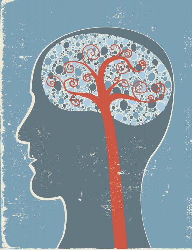 Brain with Tree